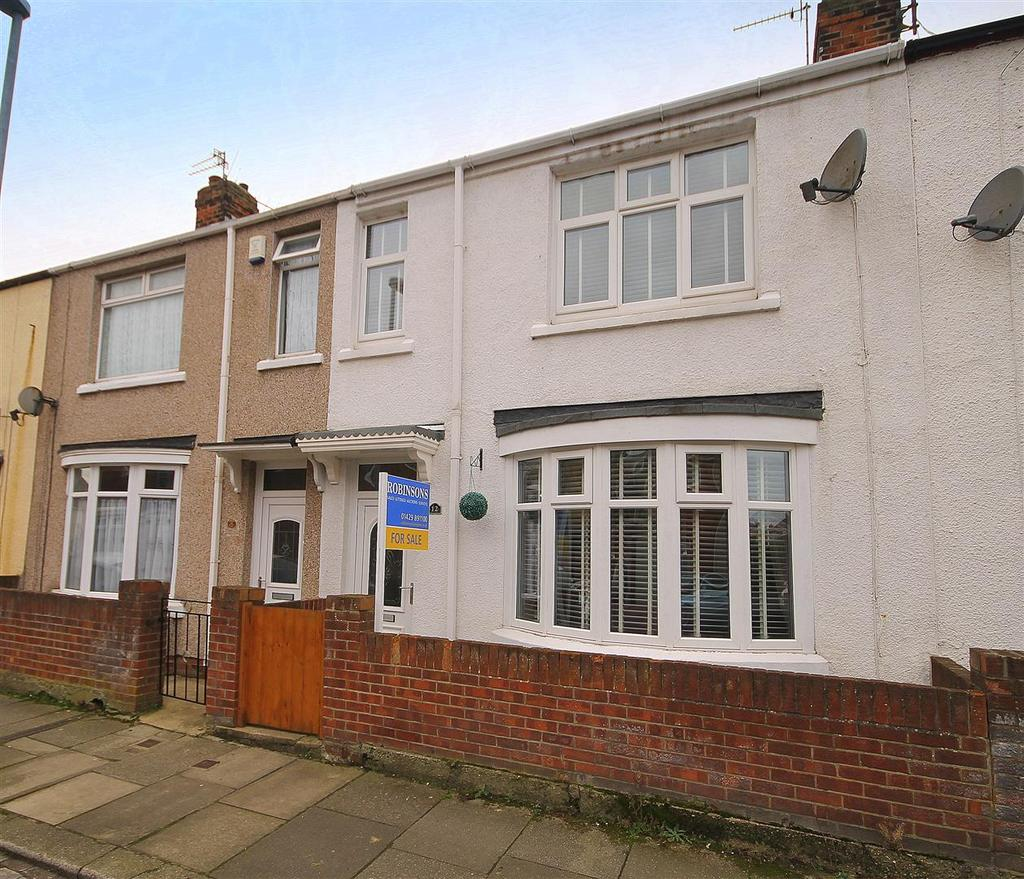 3 Bedrooms Terraced House for sale in Barton Avenue, Hartlepool