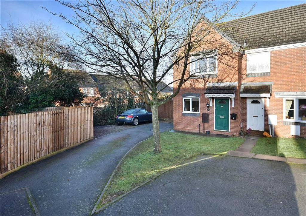 2 Bedrooms End Of Terrace House for sale in 16, Ridley Close, High Town, Bridgnorth, Shropshire, WV16