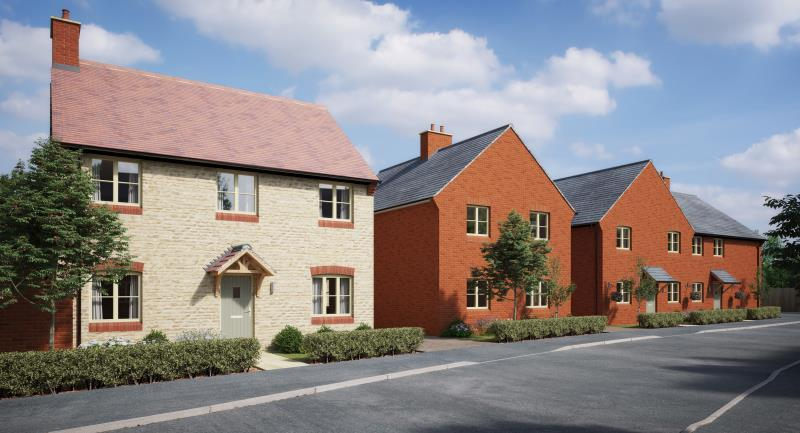 4 Bedrooms Detached House for sale in Plot 33, The Meadows, Old Stratford, Milton Keynes, Northamptonshire