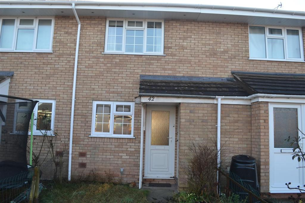 2 Bedrooms Terraced House for sale in Blanchard Close, Leominster