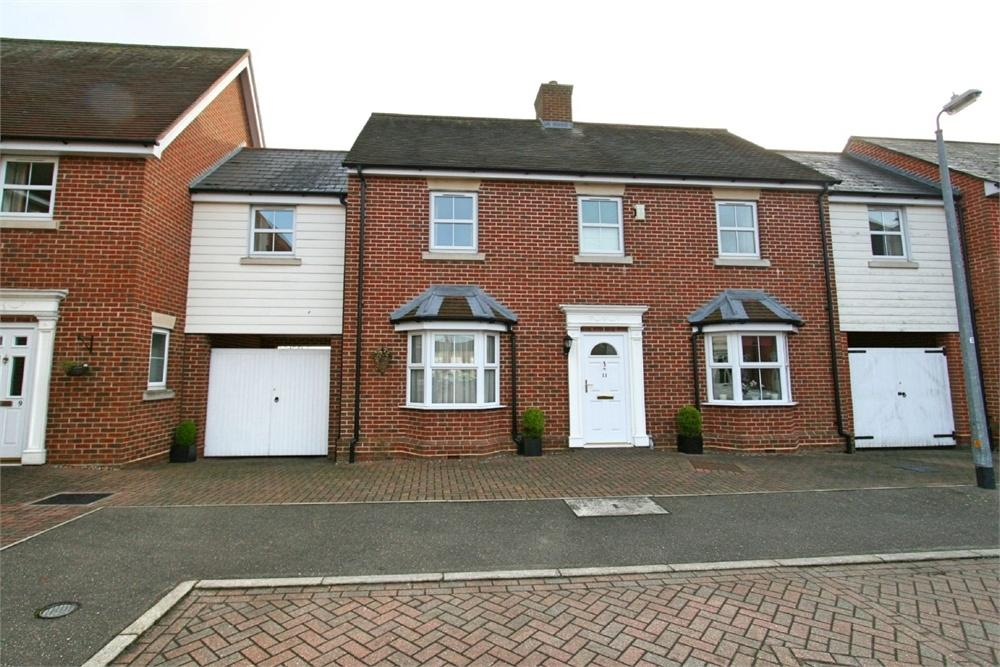 4 Bedrooms Terraced House for sale in 11 Quince Court, Tiptree, COLCHESTER, Essex