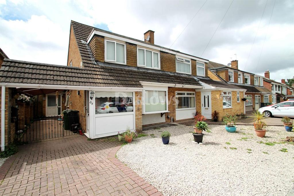 3 Bedrooms Semi Detached House for sale in Witla Court Road, Rumney, Cardiff