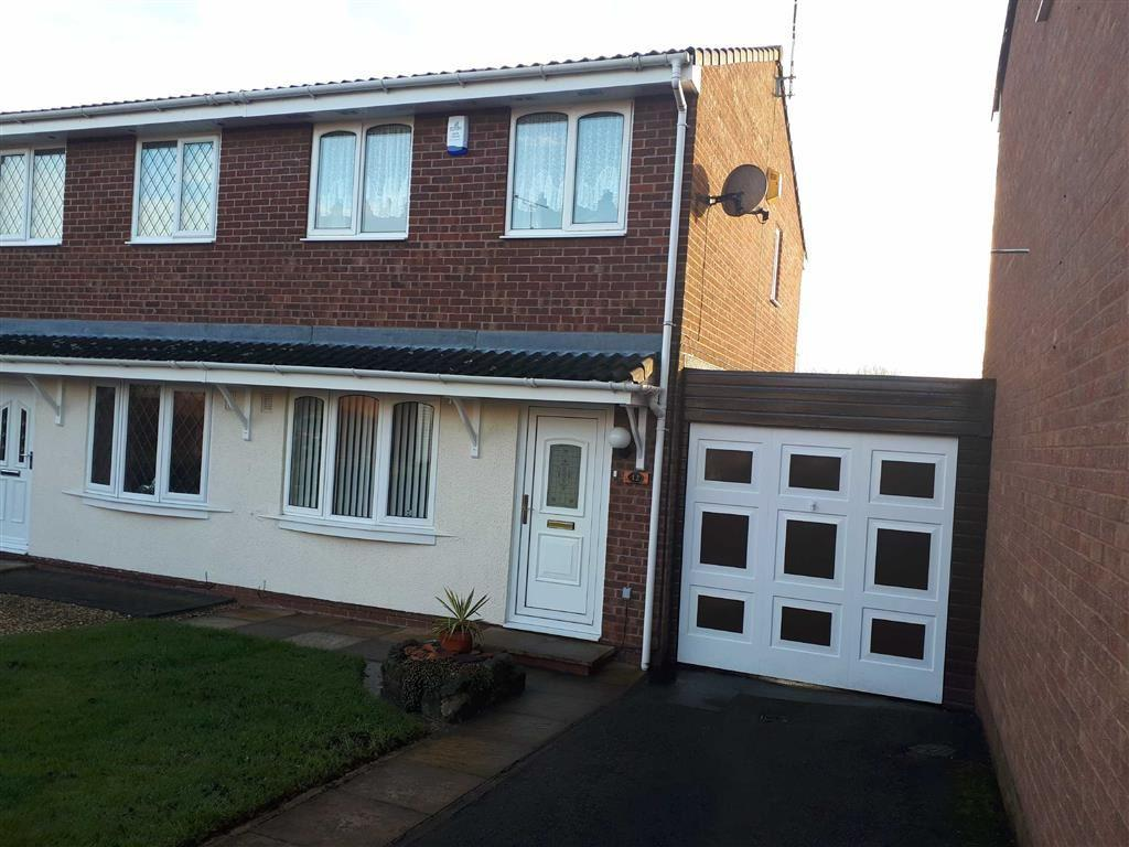2 Bedrooms Semi Detached House for sale in Ruskin Close, Galley Common, Nuneaton, Warwickshire, CV10
