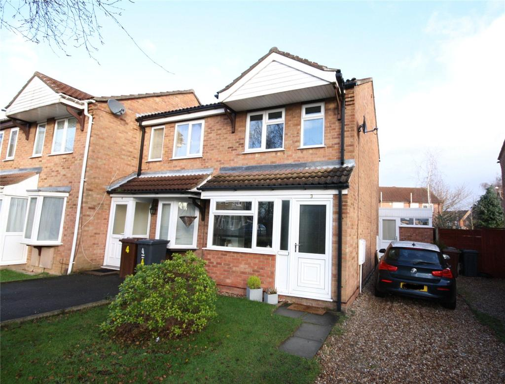 2 Bedrooms End Of Terrace House for sale in Elsham Close, Lincoln, Lincolnshire, LN6