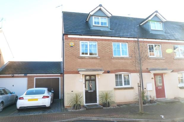 3 Bedrooms Town House for sale in Clover Way, Syston, Leicester, LE7