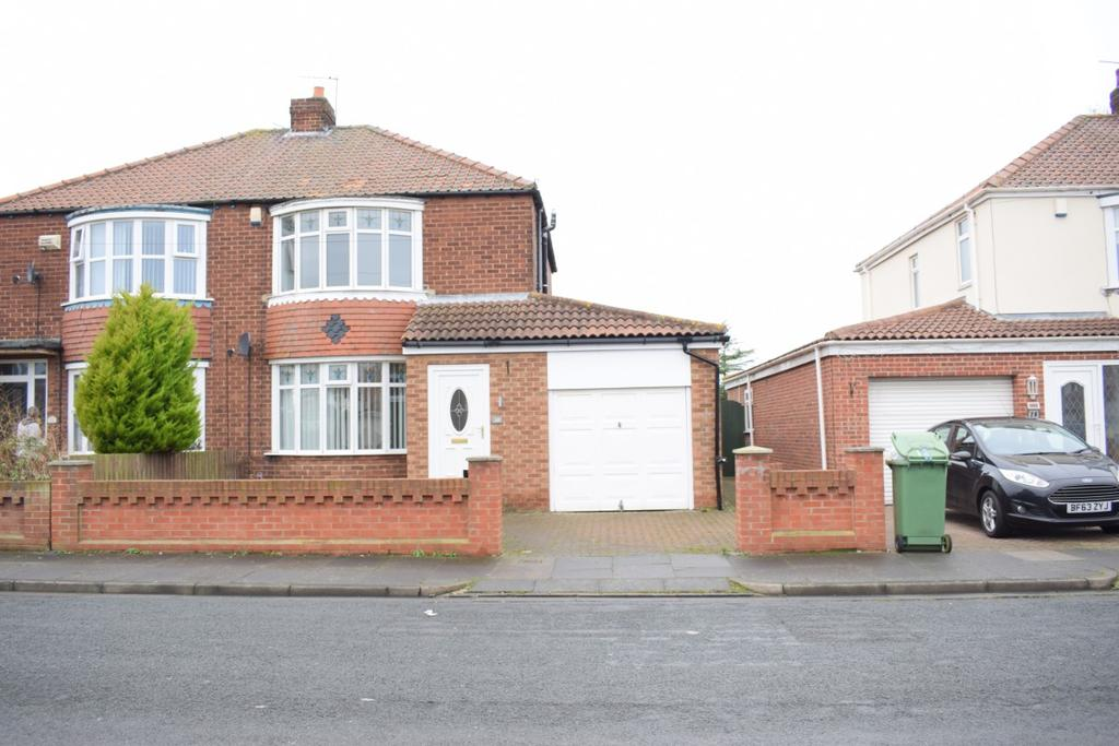 3 Bedrooms Semi Detached House for sale in VENTNOR AVENUE, Hartlepool TS25