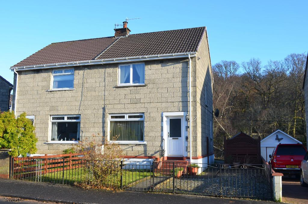 2 Bedrooms Semi Detached House for sale in Feorlin Way, Garelochhead, Argyll Bute, G84 0DP