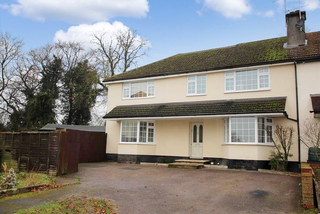 4 Bedrooms Semi Detached House for sale in Hilltop, BALDOCK, SG7
