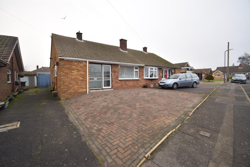 2 Bedrooms Semi Detached Bungalow for sale in Montford Road, Walderslade, Chatham, ME5