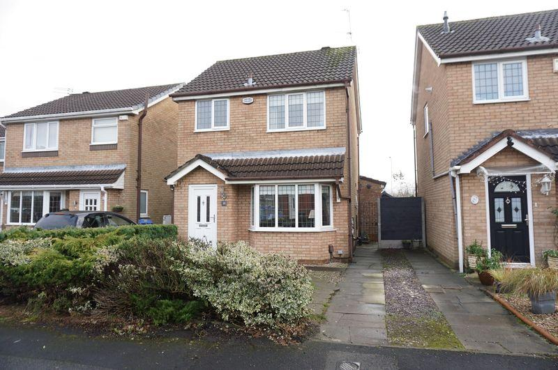 3 Bedrooms Detached House for sale in Marquis Drive, Heald Green