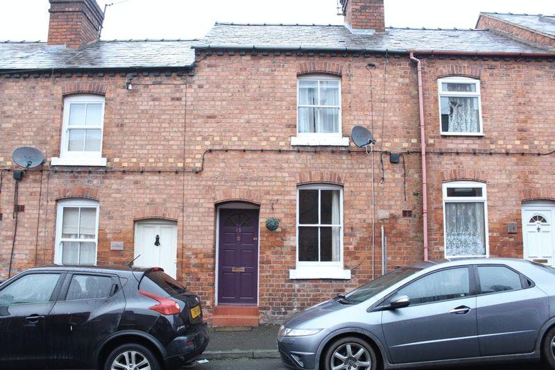 2 Bedrooms Terraced House for sale in Elm Street, Greenfields, Shrewsbury, SY1 2PU