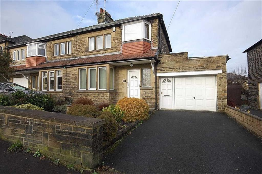 3 Bedrooms Semi Detached House for sale in Crestfield Avenue, Elland, West Yorkshire, HX5