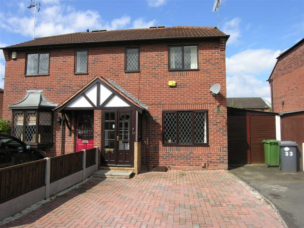2 Bedrooms Semi Detached House for rent in Robin Court, Kidderminster, Worcestershire