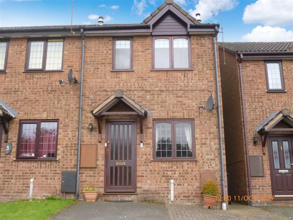 2 Bedrooms Semi Detached House for rent in Eleanor Harrison Drive, Cookley Nr Kidderminster, Worcs