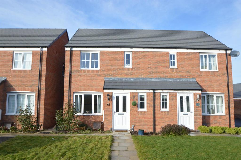 3 Bedrooms Semi Detached House for sale in 4 Bodkin Way, Shrewsbury, SY1 4FD