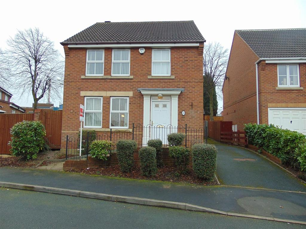 4 Bedrooms Detached House for sale in Nutmeg Grove, Walsall