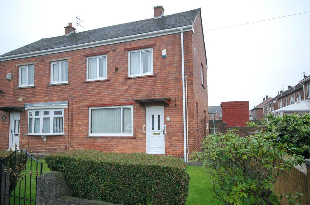 2 Bedrooms Semi Detached House for sale in Skye Grove, Jarrow