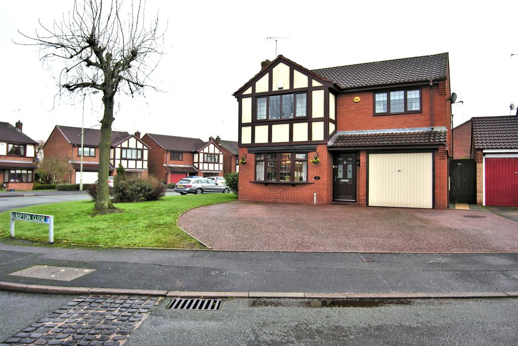 3 Bedrooms Detached House for sale in REPTON CLOSE, THE MEADOWS, STAFFORD ST17