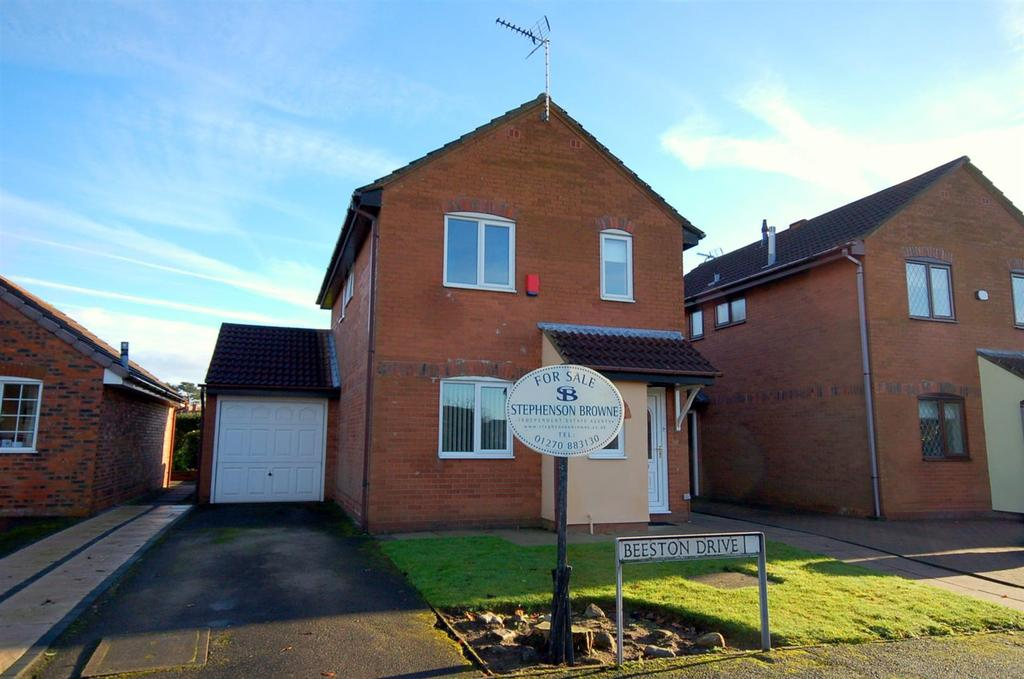 3 Bedrooms Detached House for sale in Beeston Drive, Alsager
