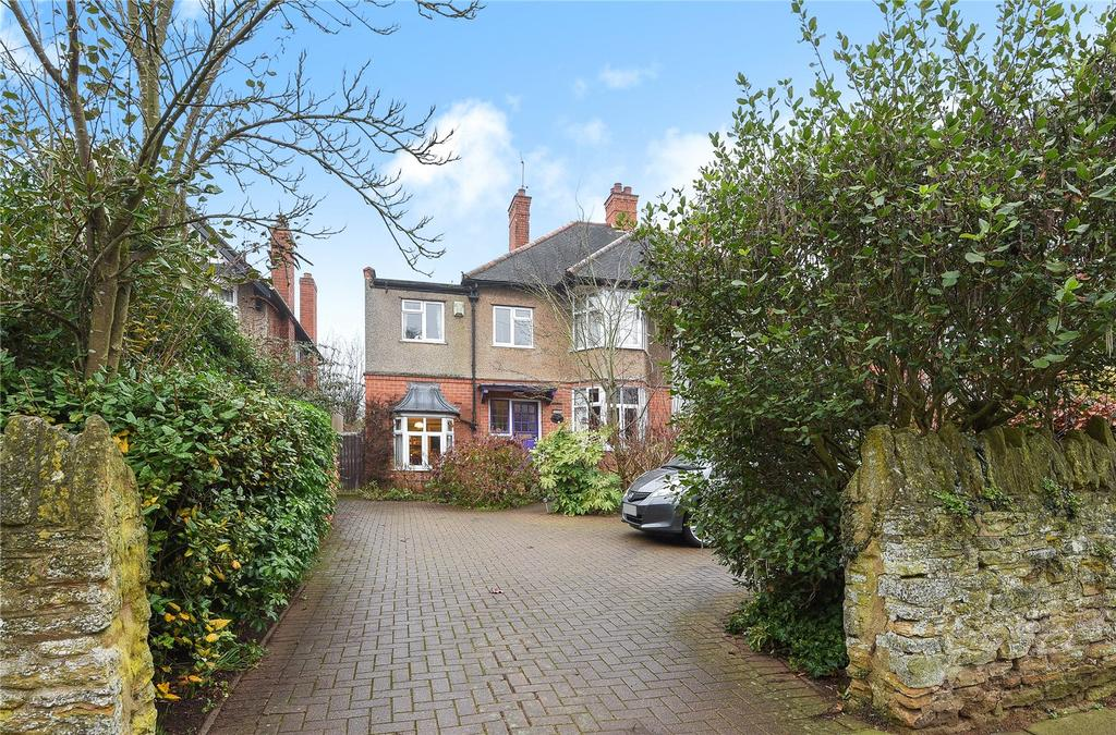4 Bedrooms Semi Detached House for sale in Church Way, Weston Favell Village, Northampton, NN3