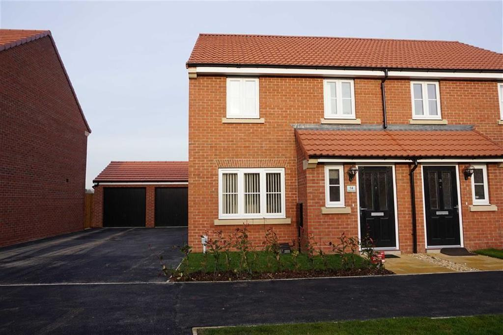 3 Bedrooms Semi Detached House for sale in Cherry Avenue, Hessle, Hessle, HU13