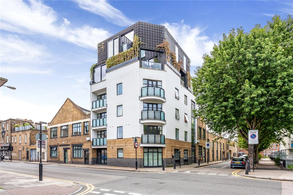 2 Bedrooms Flat for sale in Squirries Street, London, E2