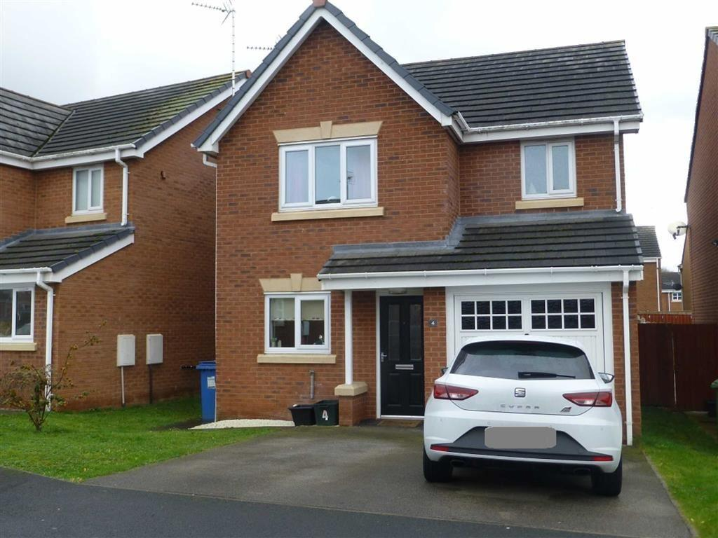 3 Bedrooms Detached House for sale in Gorse Close, Ruabon, Wrexham