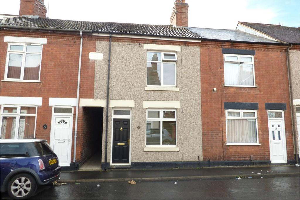 2 Bedrooms Terraced House for sale in Willington Street, Abbey Green, Nuneaton, CV11