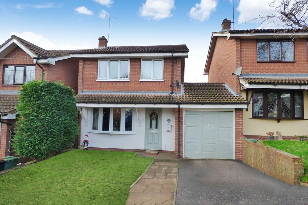 3 Bedrooms Link Detached House for sale in Fielding Way, Galley Common, Nuneaton, CV10