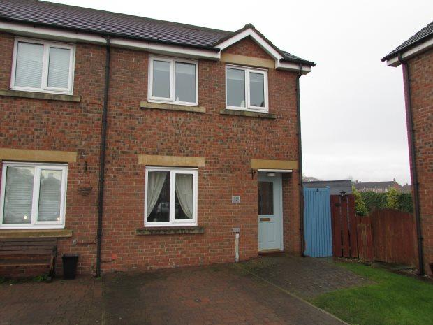 2 Bedrooms Semi Detached House for sale in CHURCH VIEW, CHILTON, SPENNYMOOR DISTRICT