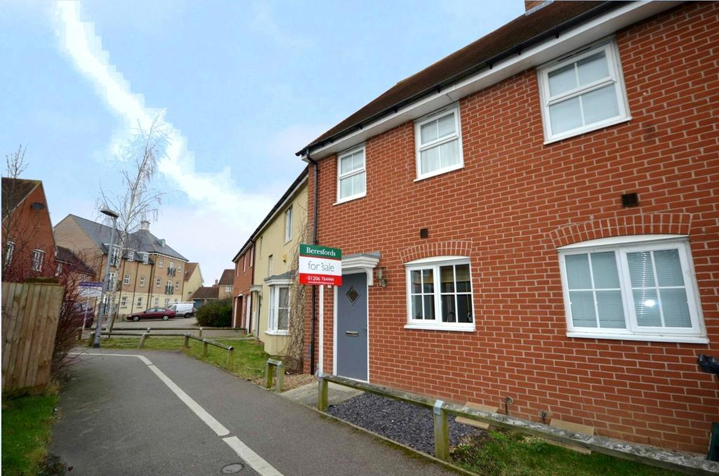 2 Bedrooms Terraced House for sale in Thomas Benold Walk, Colchester, Essex, CO2