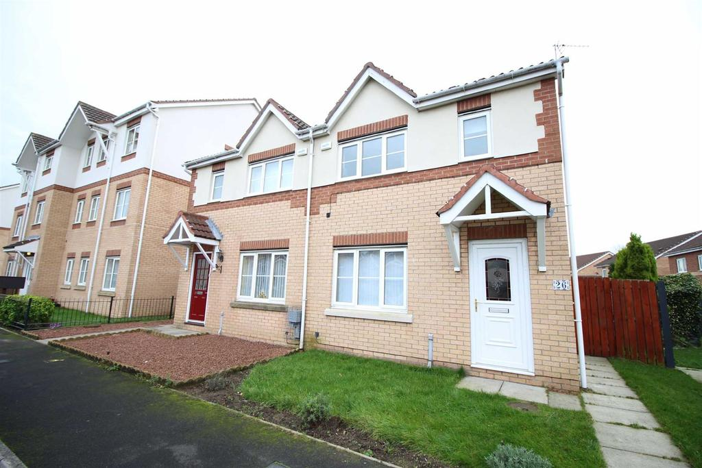 3 Bedrooms Semi Detached House for rent in Brahman Avenue, North Shields