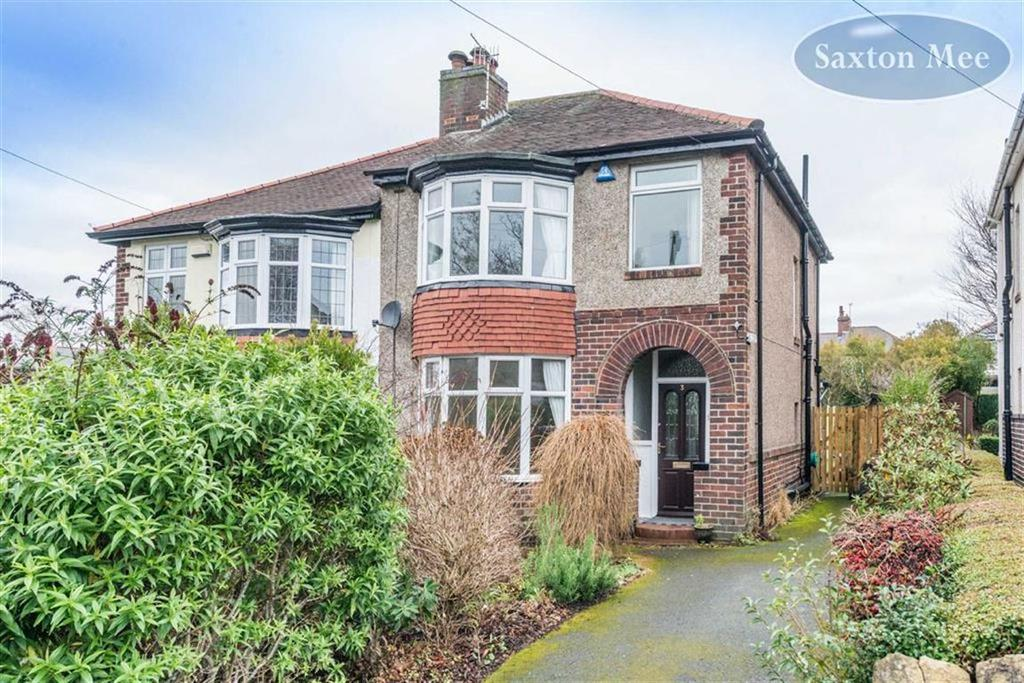 3 Bedrooms Semi Detached House for sale in Lydgate Hall Crescent, Crosspool, Sheffield, S10