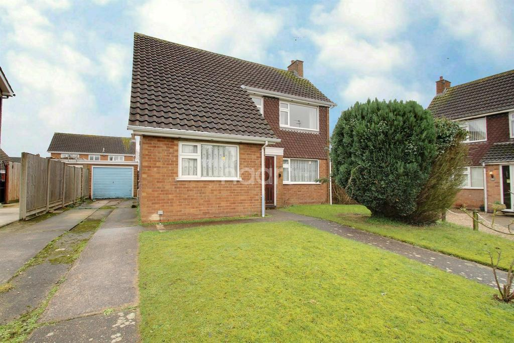 2 Bedrooms Detached House for sale in Priory Crescent, Western Park, Leicester