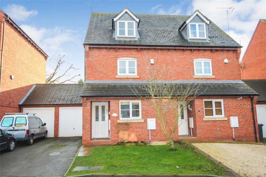 3 Bedrooms Semi Detached House for sale in Bowling Green Road, Uttoxeter, Staffordshire