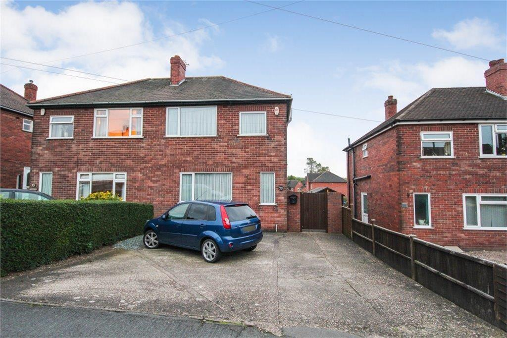 3 Bedrooms Semi Detached House for sale in 73 Eureka Road, Midway, SWADLINCOTE, Derbyshire