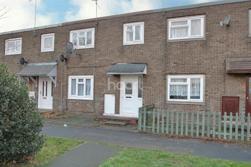 3 Bedrooms Terraced House for sale in Dewsgreen, Basildon