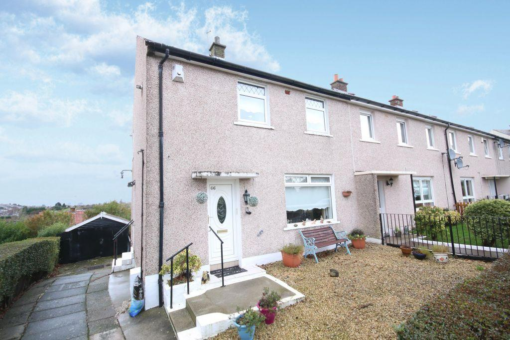 2 Bedrooms End Of Terrace House for sale in 66 Lochlea Road, Spittal, Rutherglen, Glasgow, G73 4QH