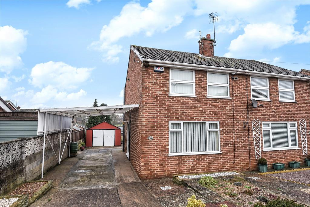 2 Bedrooms Semi Detached House for sale in Newport Avenue, Grantham, NG31