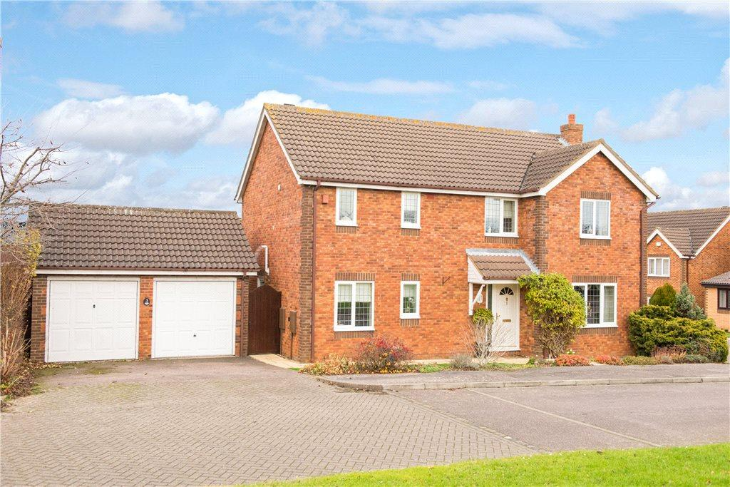 4 Bedrooms Detached House for sale in Cartwright Close, Bromham, Bedford, Bedfordshire
