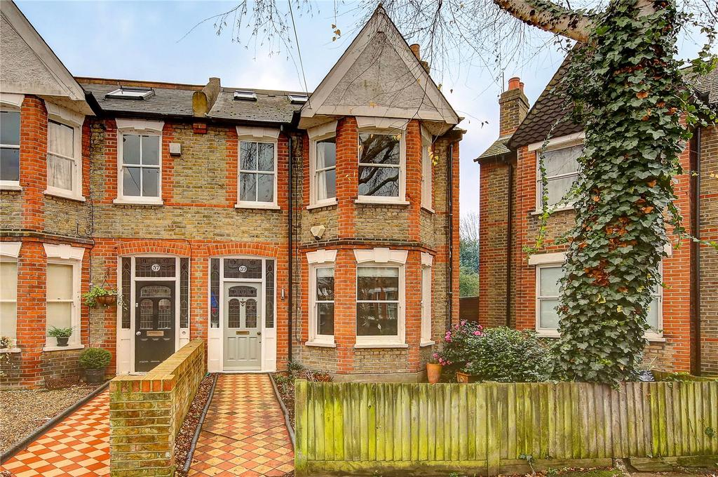 3 Bedrooms End Of Terrace House for sale in Ailsa Avenue, Twickenham, TW1