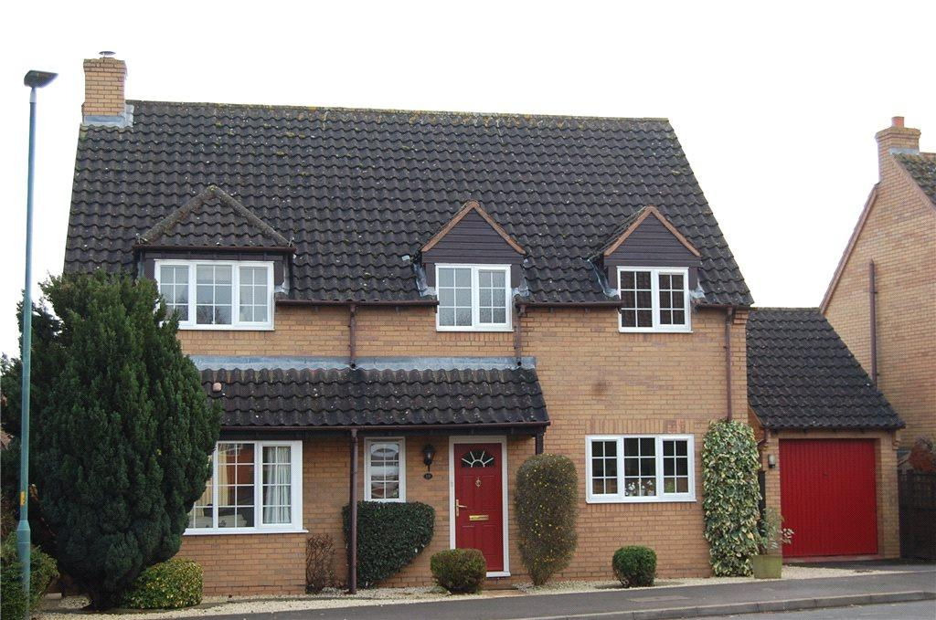 4 Bedrooms Detached House for sale in Onslow Road, Newent, Gloucestershire, GL18