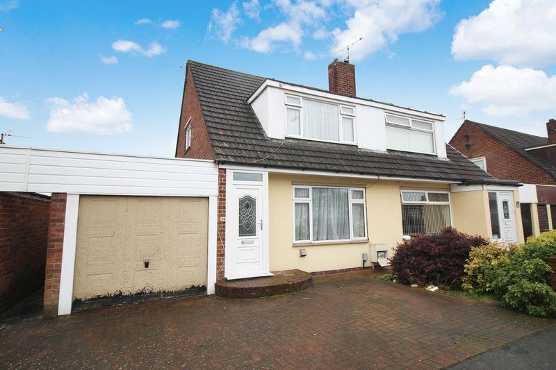 3 Bedrooms Semi Detached House for sale in Mulcaster Avenue, Liswerry, Newport