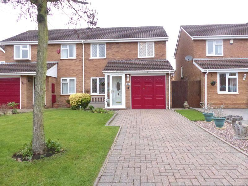 3 Bedrooms Semi Detached House for sale in Falstaff Close, Sutton Coldfield