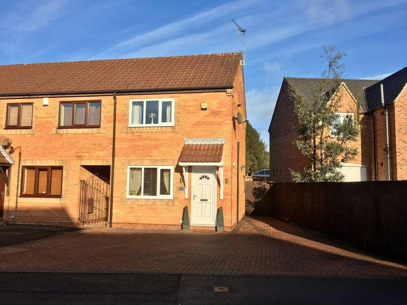 2 Bedrooms Terraced House for sale in Oak Close, Swadlincote