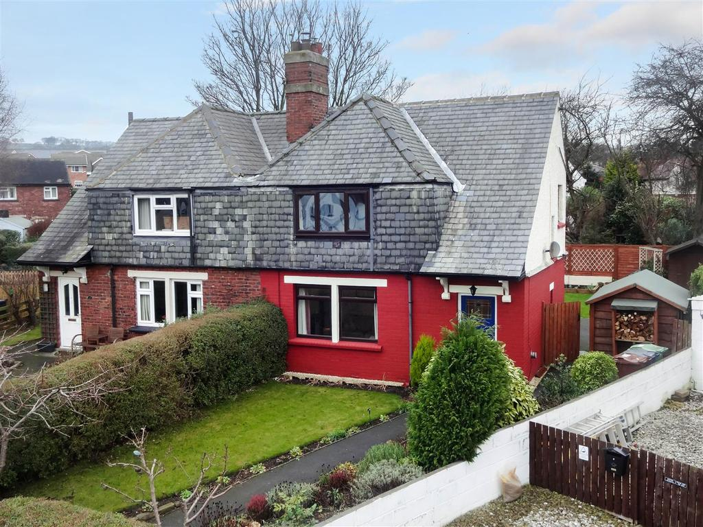 3 Bedrooms Semi Detached House for sale in Newall Avenue, Otley