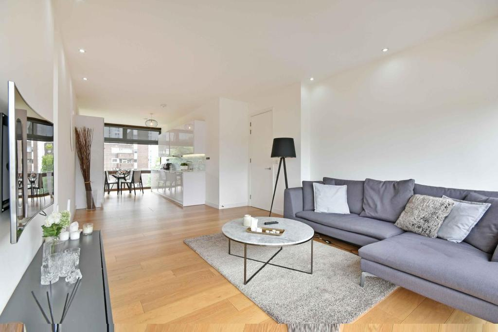 2 Bedrooms Flat for sale in Cabanel Place, Kennington