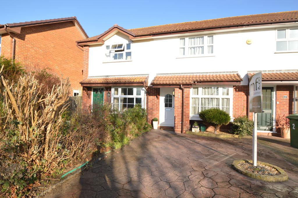 2 Bedrooms End Of Terrace House for sale in Thorneycroft Close, WALTON ON THAMES KT12
