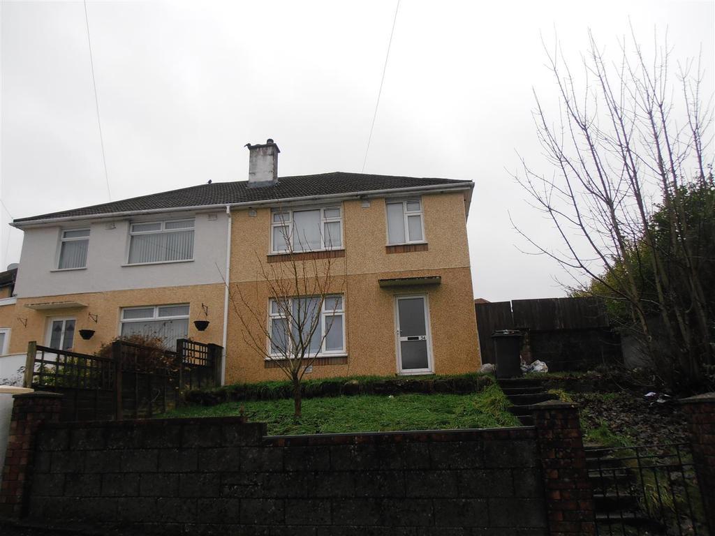 3 Bedrooms Semi Detached House for sale in Heol Keir Hardie, Penywaun, Aberdare