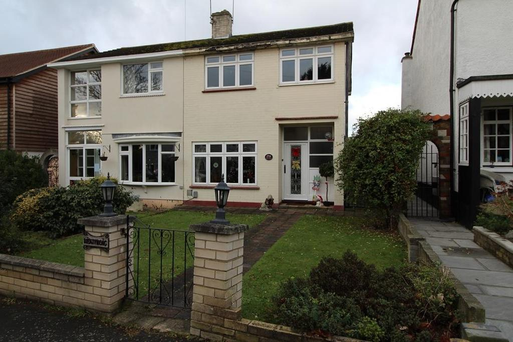 3 Bedrooms Semi Detached House for sale in Harwood Hall Lane, Upminster, Essex, RM14